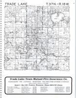 Trade Lake T37N-R18W, Burnett County 1981